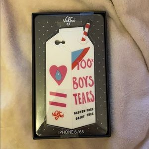 NWT iPhone 6 / 6s Valfre 100% Boys Tears Case